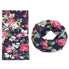 polyester tube coool women silk satin scarf