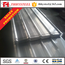 Hoja de techo gi 14 gauge metal corrugated galvanized iron sheet for roofing