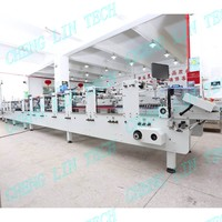 Cheng Lin Intelligent automatic folder gluer with prefold machine box folding auto packaging
