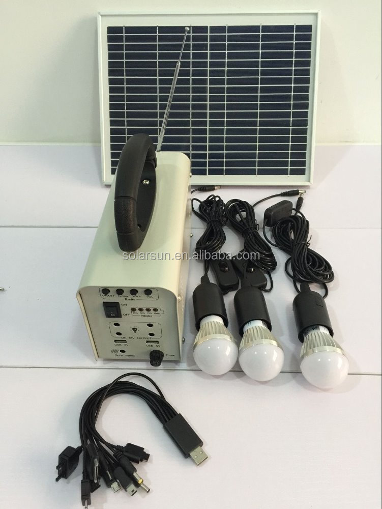 solar <strong>energy</strong> for Wholesale small solar generator use for portable home solar lighting system as 12V led