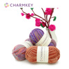 Bulky nature color hand knitting wool yarn crochet for online store