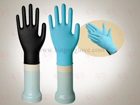 28cm Individual Package Latex Sterile Surgical Hospital Hand ...