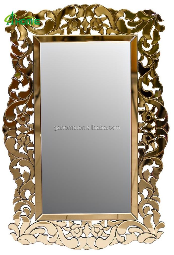 Lujo Bling Espejo Compacto Enmarcado Decorativo Exquisito Arte Pared ...