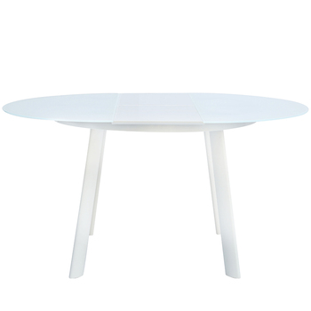 Ronde Glazen Eettafel.Melk Whiteboard Vouwen Half Moon Glas Restaurant Tafel Buy Ronde