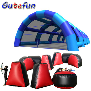 top quality team building archery tag games inflatable bunkers paintball field paintball arena