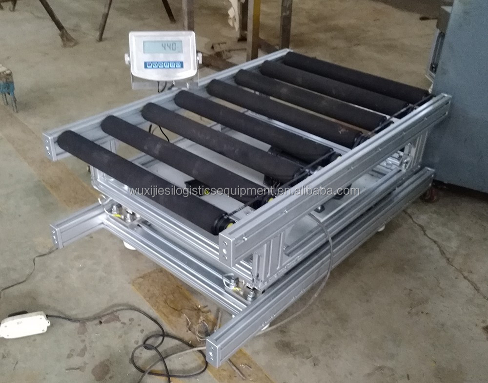 Weighing Motorized Roller Conveyor System Buy Weighing