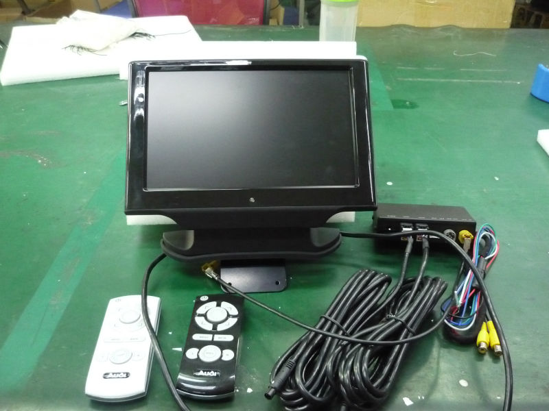 "taxi advertising headrest monitor 10"" inch Headrest TFT LCD Monitor for after market for Audi A6L/A8L"