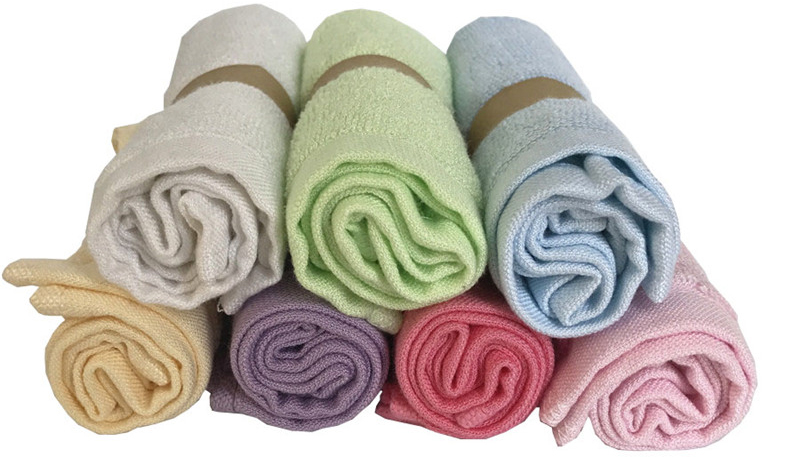 Wholesale Home Textile 100% Bamboo Baby Towel Washcloth In Stock