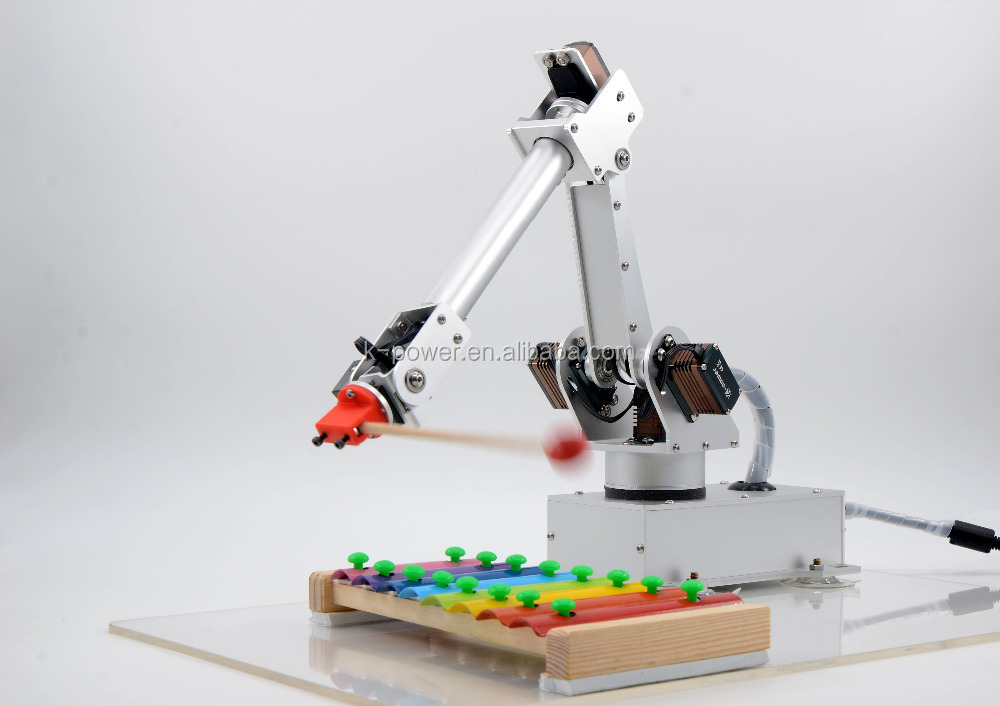 Integrated Circuits Electronic Components & Supplies Aluminium Robot 6 Dof Arm Claw Mount Kit Mechanical Robotic Arm For Arduino Fashionable And Attractive Packages