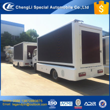CLW P8 P6 LED screen high definite screen advertising car truck for sale