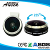 Latest clip 3 in 1 fisheye lens for projector as fisheye camera for all smartphone from Shenzhen Factory