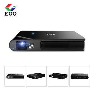 2018 latest DLP small projector with Android 5.1 bluetooth wifi beamer
