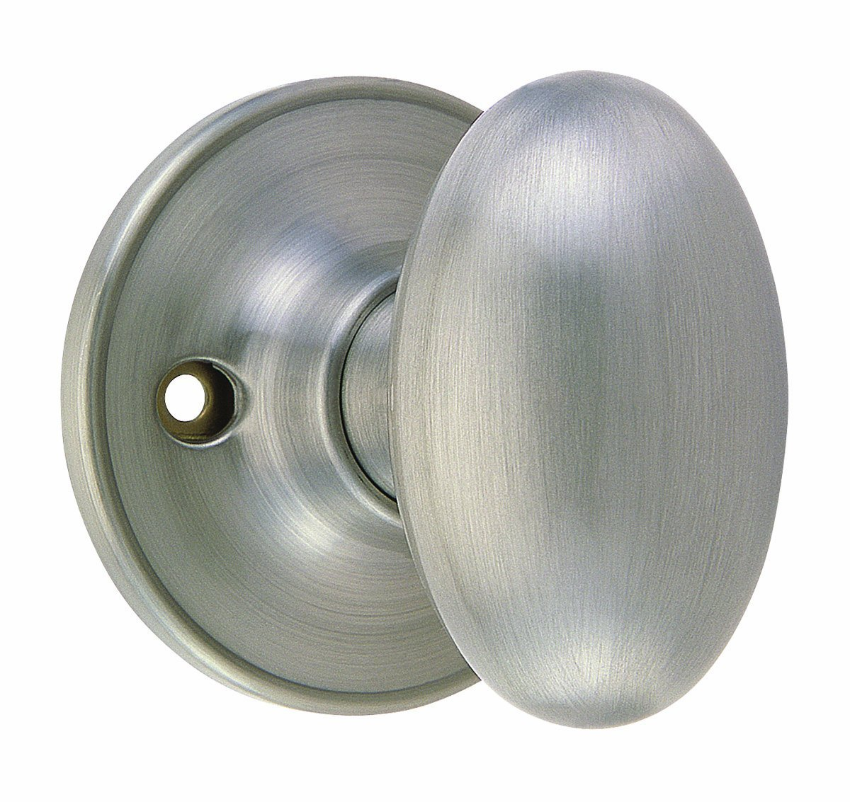 Beau Get Quotations · Design House 750620 Egg Dummy Knob, Reversible For Left Or  Right Handed Doors, Satin