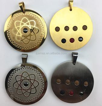2017 scalar quantum pendant stainless steel bio energy pendant with 2017 scalar quantum pendant stainless steel bio energy pendant with 7pcs health care stones aloadofball Gallery