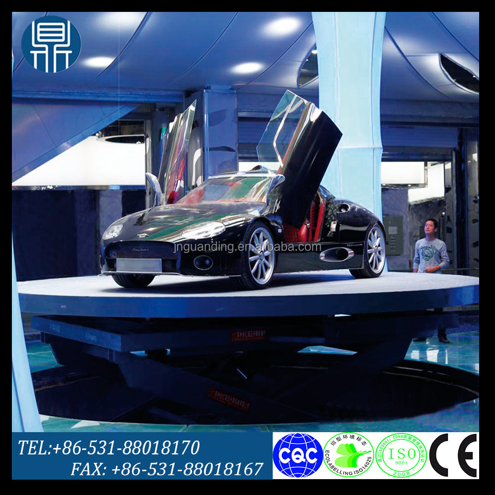Revolving stage for car display / stage lifting platform /car display platform