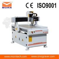Sign making advertising cnc router machine for aluminum