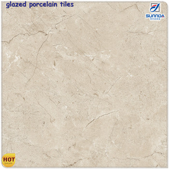 Glossy Ceramic Floor Tiles, Inkjet Non Slip Marble Look Porcelain Bathroom  3d Ceramic Floor Tiles