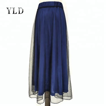 d4d8dc1159f Wholesale Women Skirts Double Lace Long Maxi Skirt - Buy Long ...