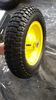 rubber wheel barrow tyre 3.50-8