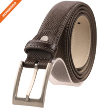 Handmade Western Boy Split Leather Adjustable Buckle Belts