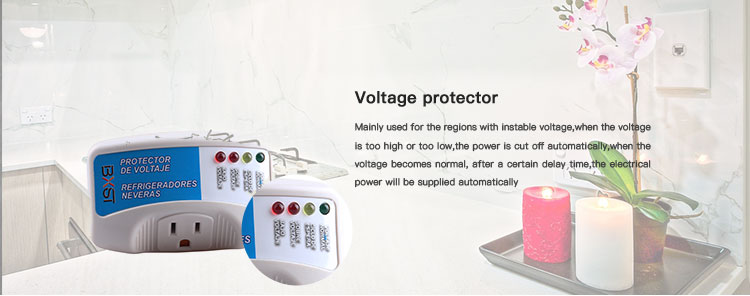 Factory Sale Various Automatic Voltage Protector 220V Over Under Voltage Protector