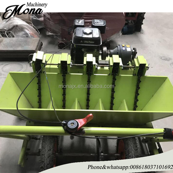 Trade Assurance 4 Row Gralic Planting Machine Garlic Planter For