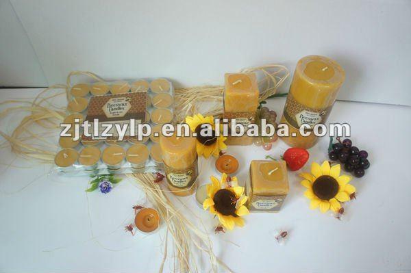"""Miel Naturel Parfum en vrac 100 Naturel 100/% Pure Cire D/'Abeille Cône Bougies 12/"""""""