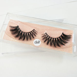 Yaopoly Private Label 3D Korean Silk False Eyelashes Faux Mink Strip Lashes G808