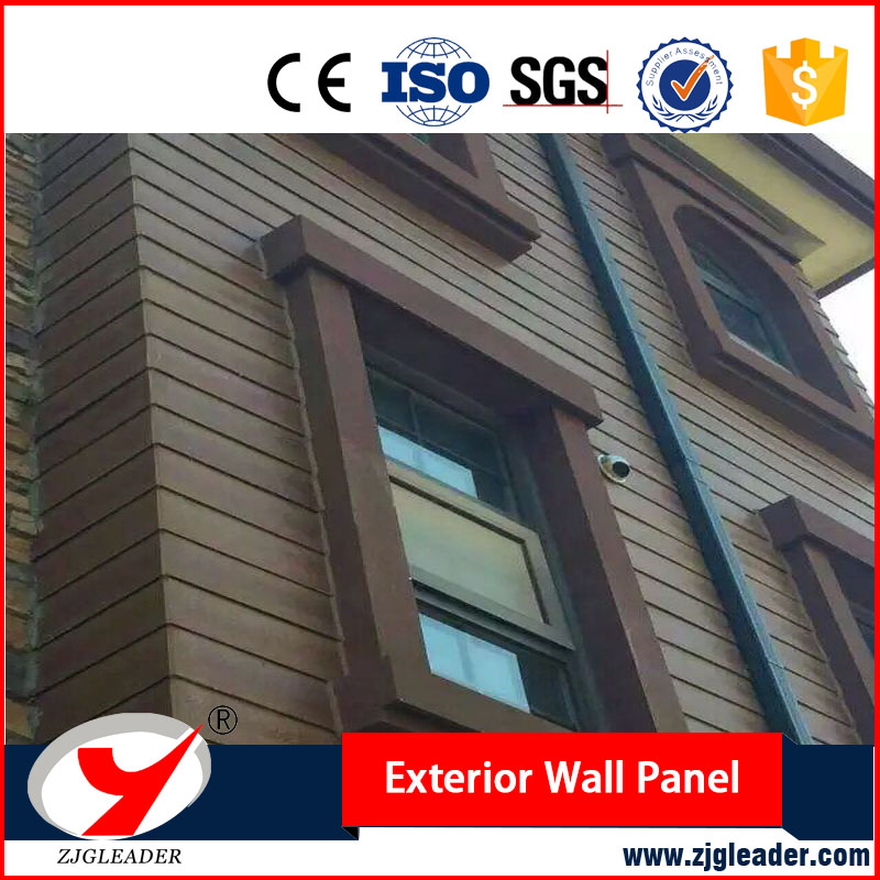 Building material fireproof waterproof exterior wall siding panel