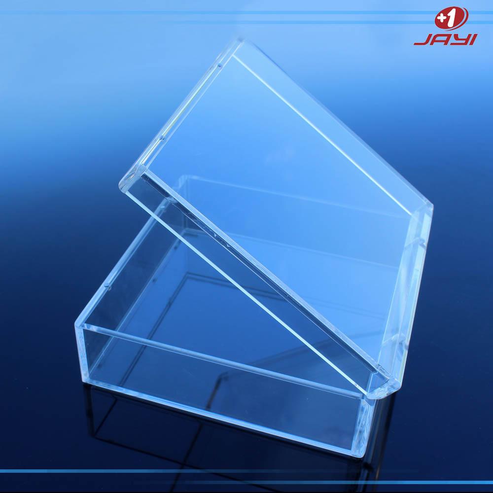 Custom Oem High Quality Acrylic Transparent Gift Box Clear Plastic Box