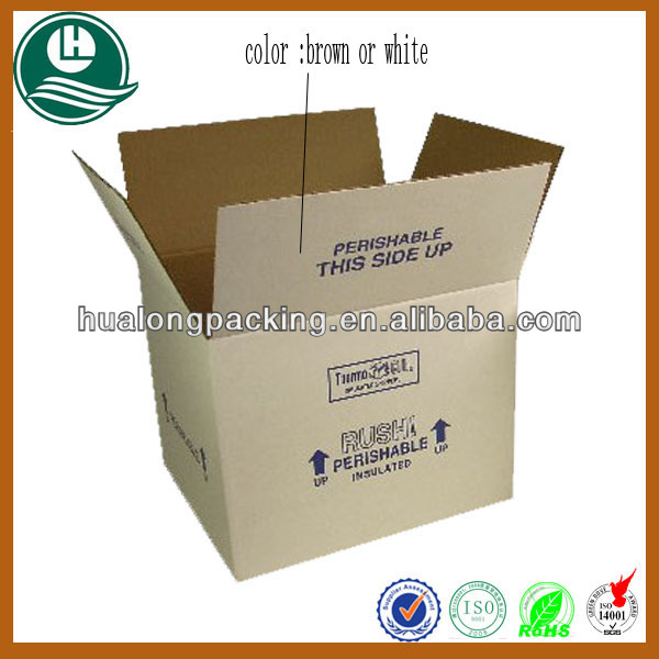 recyclable white corrugated carton box manufacturers