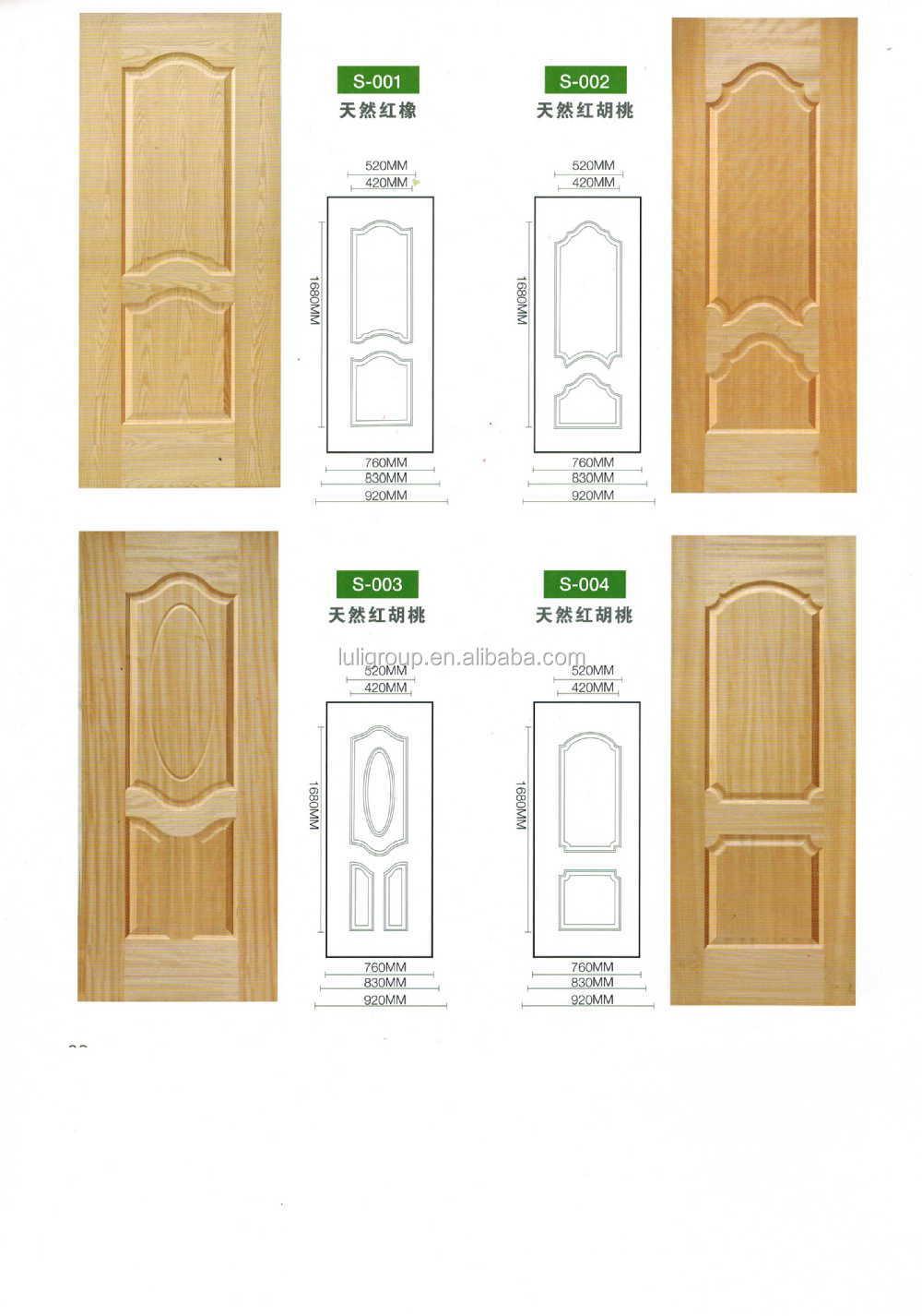 Melamine Hdf Door Skin /veneer Mdf Door Skin For Iran Market From ...
