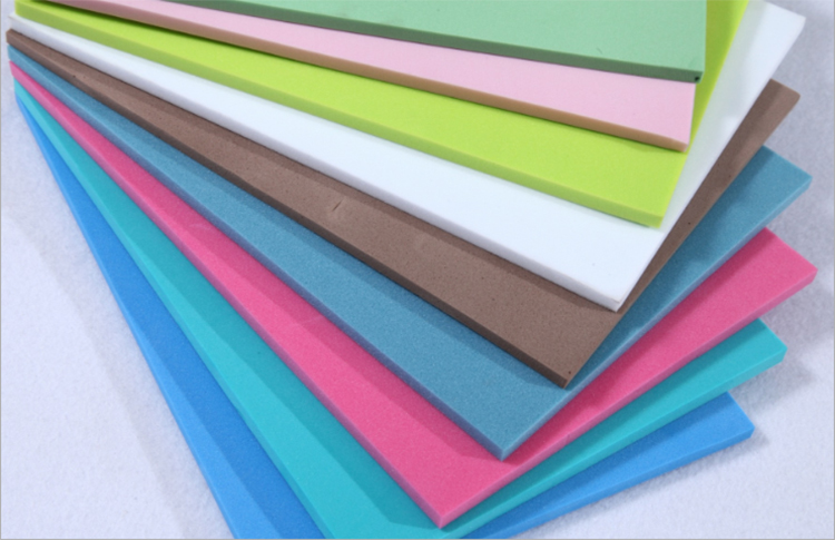 Thick 10mm Waterproof eva/pe foam  board   for building