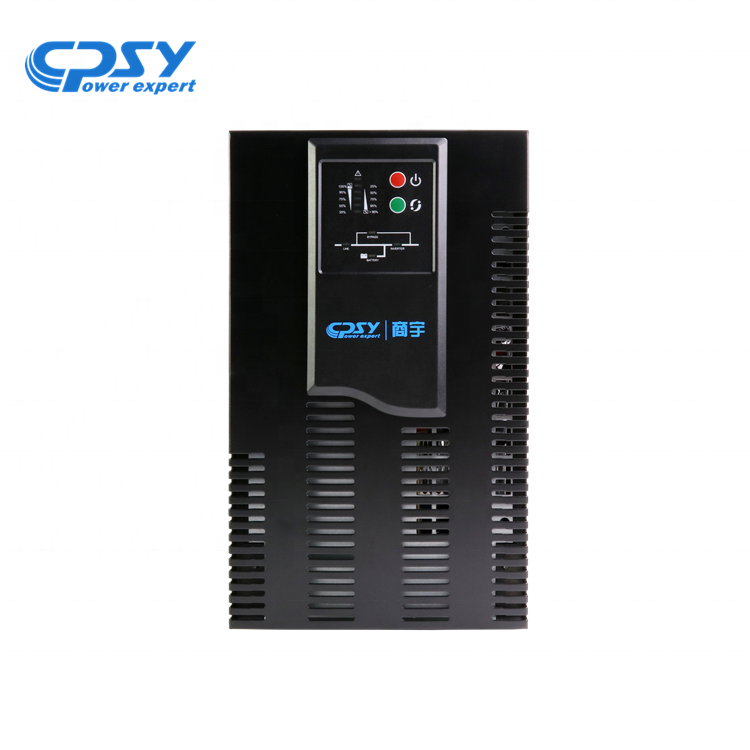 Hotsale transformerless type high frequency online UPS 3KVA 2400W uninterrupitable power supply for computer