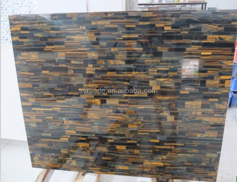 Wall tile tiger eyes stone slabs marble flooring border designs