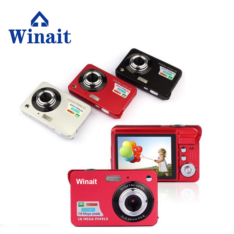 2017 Disposable camera with 2.7'' TFT display, rechargeable 18 MP compact video camera