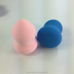 Perfect Cosmetic Tool to Put on Makeup Powder / Velour Cosmetic Puff / Beauty Puff