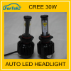 High Quality LED Headlight 9007 9004 H13 H4 led bulbs 30w 3000lm
