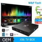 Mais novo X96 S905X Amlogic Quad Core Android 6.0 TV BOX 1G/8G KODI 16.1 4 K Smart Tv box Android PK TX3 Pro T95X