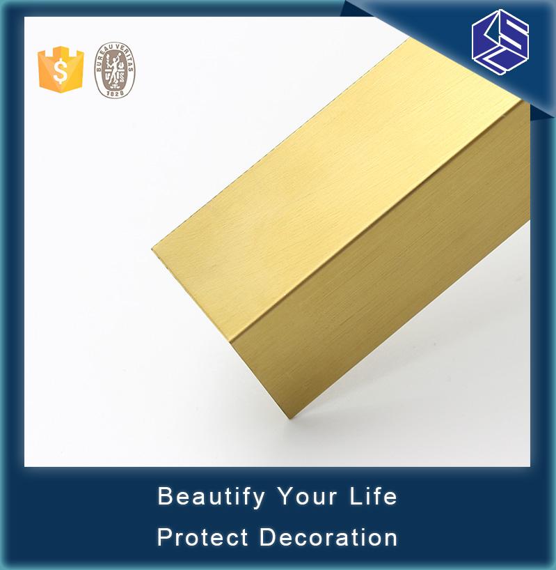 Aluminum Edge Protection : Eco friendly edge protectors aluminum vinyl wall corner