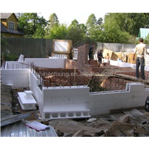 Modern construction materials high density eps foam for Foam concrete forms for sale