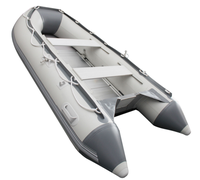9.8ft Best five Aluminum Floor Inflatable Boat for Fishing
