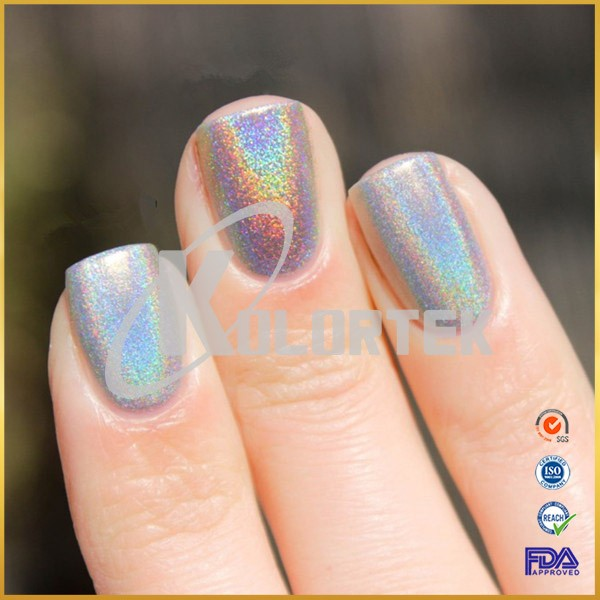 How Does Powder Nail Polish Work: Rainbow Effect Super Unicorn Powder Pigment For Nail