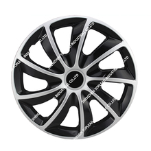 "Car steering Wheel Covers 13""14""15"" PP/ABS Plastic Color Car Wheel Caps Twin Color Car Wheel Hub Caps 447"