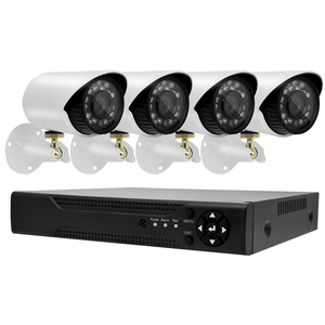 RONAVIS Outdoor 720P 2 0MP HD 4Channel waterproof home alarm system cctv  camera with DVR 8CH camera security kit