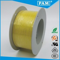 UL3122 Yellow Silicone Rubber Insulation electrical wire