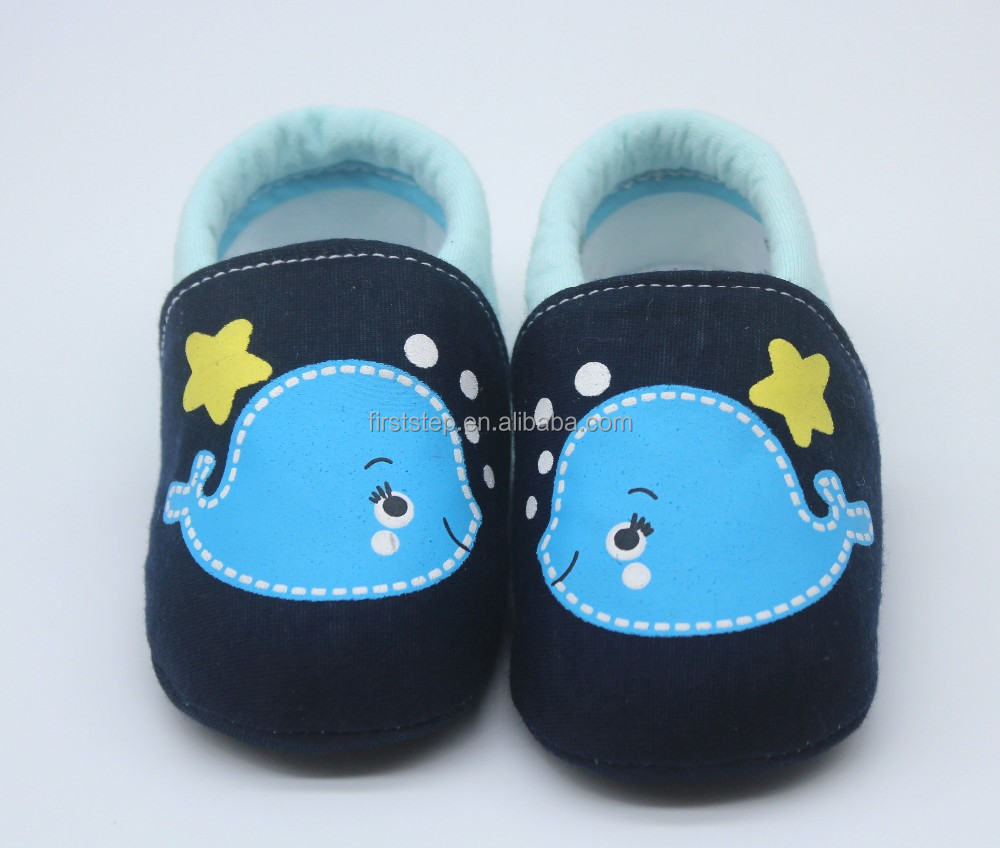 Lovely cartoon animals fish shoes soft felt hot sale newborn baby boy shoes