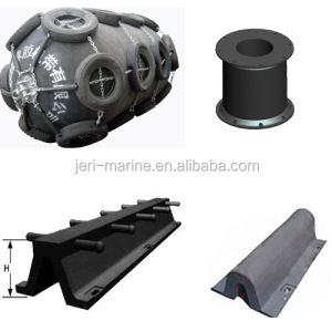 Marine Dock Fender Rubber Molded Wharf Fender