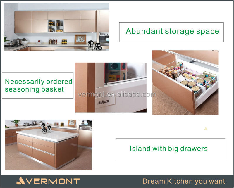 2017 Vermont new island style kitchen cabinet for sale