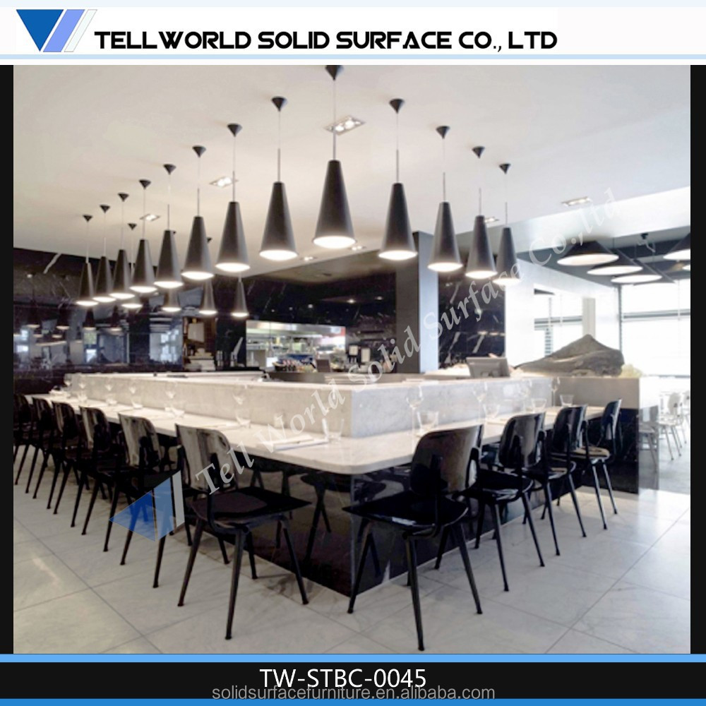 Artificial Stone Solid Surface Ready Made Vark Shop Counter Com ...